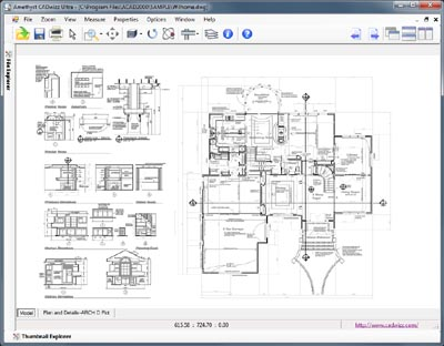 View AutoCAD DWG and DXF files
